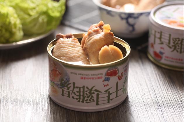 鮮盒子干貝雞湯 1